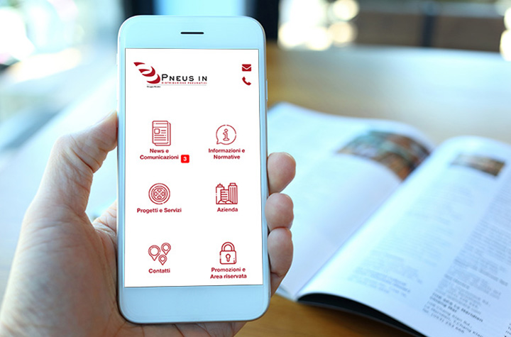 Scopri l'app di Pneus In